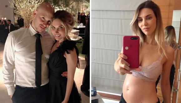 Juliana Oxenford: su esposo comparte foto de la ecografía y le dedica emotivo mensaje (Foto: Instagram)