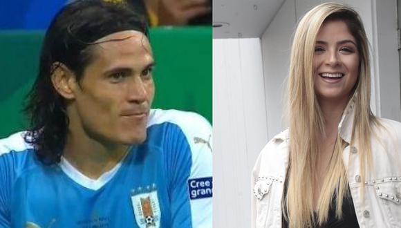 ¿Edinson Cavani tuvo problemas con su esposa por culpa de modelo peruana? Mira lo que reveló Doménica Delgado | VIDEO