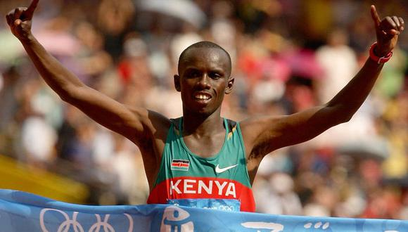 Campeón olímpico keniano Wanjiru muere al caer de un balcón