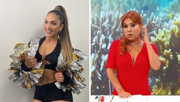 Magaly Medina responde a Isabel Acevedo tras criticas sobre su edad. (Foto: Instagram / @isabelacevedoarenas / Capturas ATV).