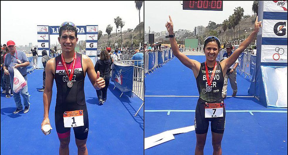 Campeones nacionales de triatlón obtuvieron cupo a Lima 2019