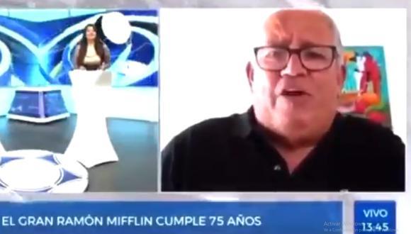 Ramón Mifflin le pide la vacuna al Presidente (Foto: Captura Gol Perú)