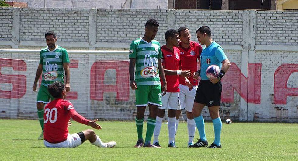 Jugador del Juan Aurich suspendido por amenazar al árbitro