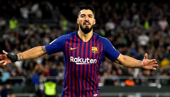 Luis Suárez es el tercer goleador histórico del Barcelona, con 197 anotaciones. (Foto: EFE)