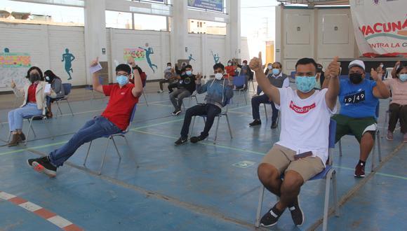 Las autoridades regionales señalan que la medida busca promover la inmunización en esta región. (Foto: Diresa Ica)
