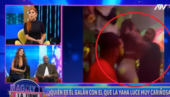 """Yahaira Plasencia se pronuncia luego que el programa """"Magaly TV: La Firme"""" difundió imágenes de la salsera con misterioso hombre en Miami. (Foto: ATV)."""