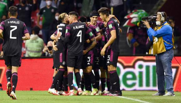 México vs. Honduras se miden en la fecha 5 de las Eliminatorias Qatar 2022. (Foto: AFP)
