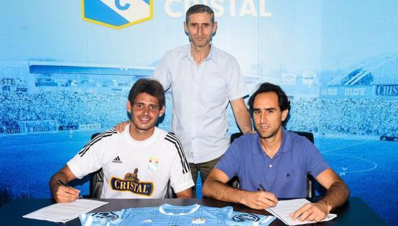 Omar Merlo cumplirá hasta cinco temporadas en Sporting Cristal. (Foto: Sporting Cristal)