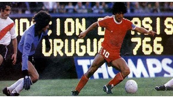 Diego Maradona: Hoy se cumplen 42 años de su debut en el fútbol mundial