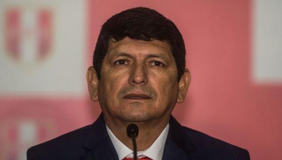 Agustín Lozano es el actual presidente de la Federación Peruana de Fútbol (Foto: AFP)