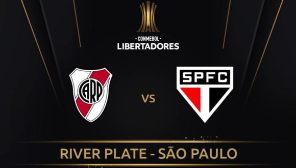 Sao Paulo y River empataron 2-2 en su último enfrentamiento copero. (Foto: Conmebol Libertadores)