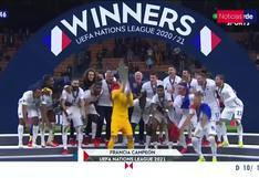 Con goles de Benzema y Mbappé, Francia venció a España y se coronó campeón de la Nations League