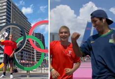 """""""Tokio 2020"""": Angelo Caro y el emotivo momento frente a su rival brasileño   VIDEO"""