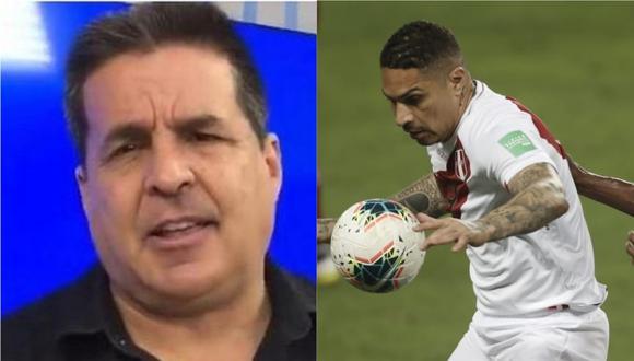Gonzalo Núñez opinó sobre el ingreso de Paolo Guerrero en la parte final del duelo entre Perú y Venezuela.