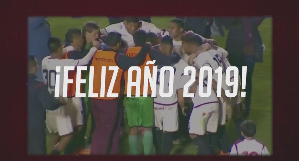 Universitario de Deportes y su mensaje a los hinchas por Año Nuevo | VIDEO