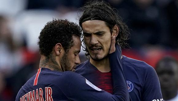 Edinson Cavani es uno de los jugadores que causa preocupación en PSG. (Foto: AFP)