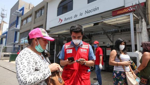 El Gobierno dio a conocer el cronograma para poder registrarte a la Banca celular y puedas cobrar el segundo BFU (Foto: Andina)