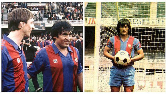 La Liga recordó el histórico debut de Hugo Sotil con el Barcelona