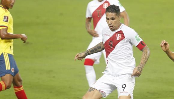 Paolo Guerrero lamentó la derrota de la selección peruana frente a Colombia. (Foto: Violeta Ayasta / GEC)