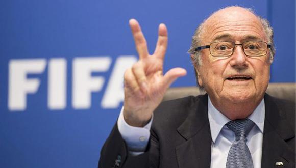 Joseph Blatter pedirá más tecnología para temas arbitrales en el fútbol