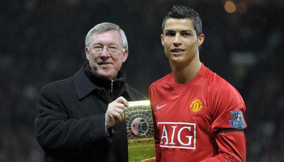 Sir Alex Ferguson confirma que colaboró en la vuelta de Cristiano Ronaldo. (Foto: AFP)