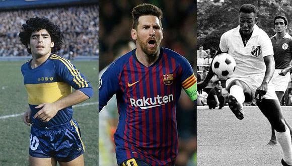 """ExDT del Real Madrid: """"Solo ha habido tres genios: Pelé, Maradona y Messi"""""""