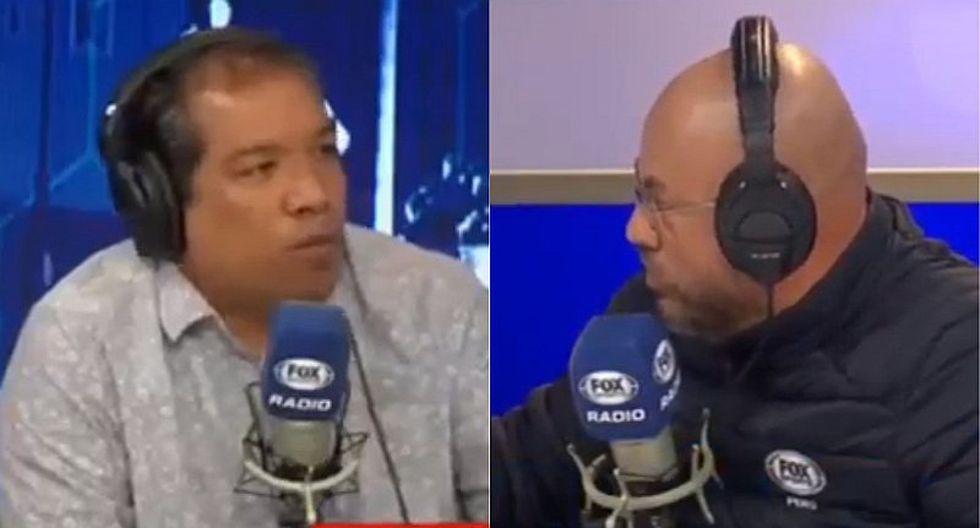Claudio Pizarro | Fox Sports: la bronca en vivo entre Alan Diez y Peter Arévalo por 'Bombardero' | VIDEO
