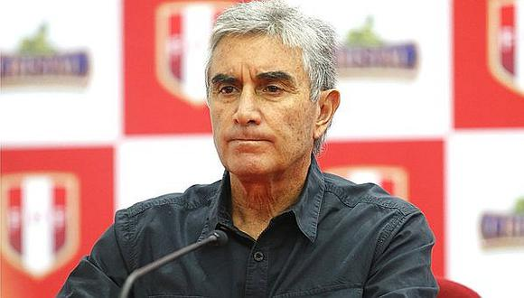 Oblitas fue borrado del video que la FPF publicó junto a figuras de la selección peruana.