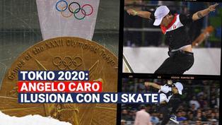 Tokio 2020: Angelo Caro demostrará su talento en el skate durante los Juegos Olímpicos