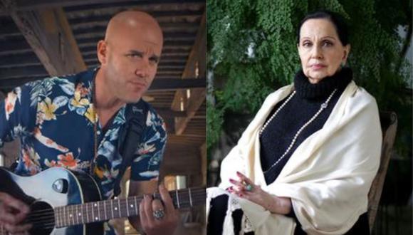 Gian Marco lamentó la muerte de la icónica cantante peruana. (Foto: Captura de video/Nancy Chappell)
