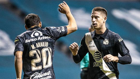 Santiago Ormeño está en el once ideal de la fecha 1 del Clausura. (Foto: @ClubPueblaMX)