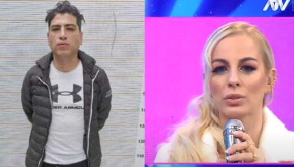 Dalia Durán vio a John Kelvin tras ser agredida por el cantante. (Foto: Captura Magaly TV: La Firme).
