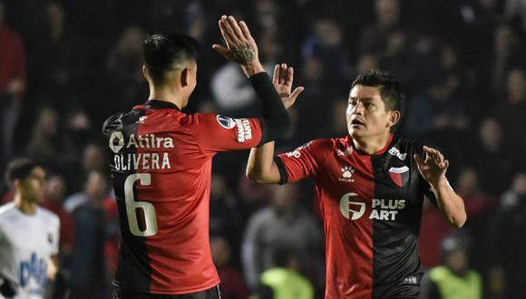 Colón y Aldosivi quieren volver a ganar en la Superliga Argentina. (Foto: AFP)