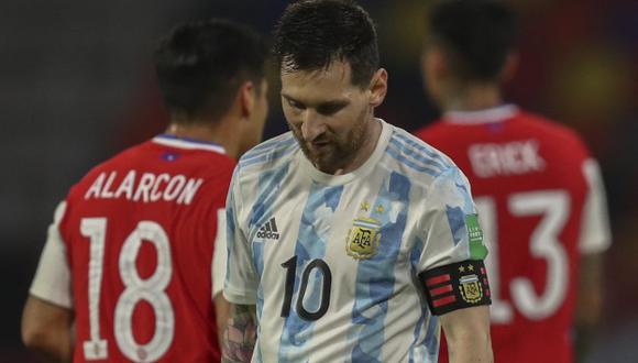 Lionel Messi fue titular en los dos últimos partidos de Argentina en Eliminatorias. (Foto: AFP)