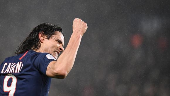 Cavani jugó por Palermo y Napoli en Italia antes de fichar por PSG, donde acaba de cumplir siete temporadas. (Foto: AFP)