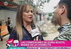 """""""Christian Domínguez descansa tres años de las andanzas, es su realidad"""", señala la madre de Isabel Acevedo"""