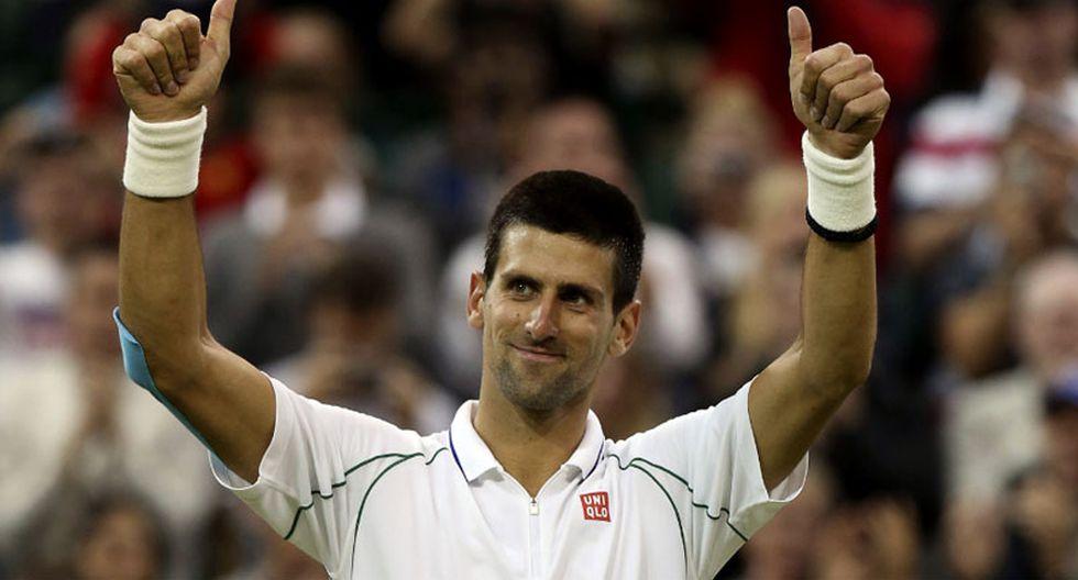 Djokovic venció al búlgaro Dimitrov y sigue firme en Shanghái
