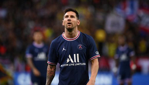 En París aguardan por el debut de Lionel Messi en el Parque de los Príncipes. (Foto: AFP)