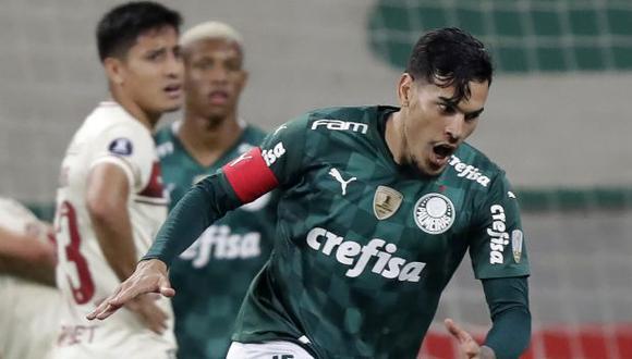 Universitario se despidió de la Copa Libertadores con una goleada. (Foto: AFP)