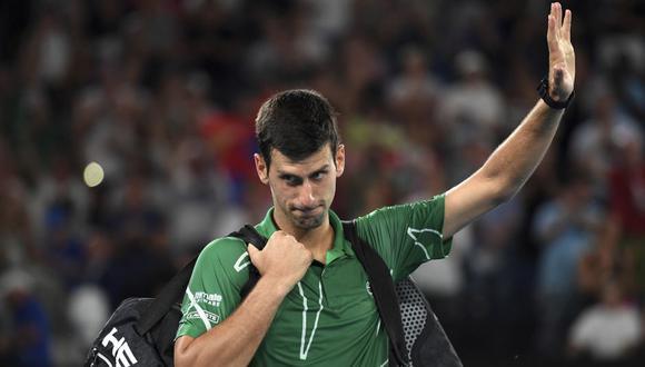 Djokovic actualmente ocupa el número 1 en el Ranking ATP individual. (Foto: AFP)