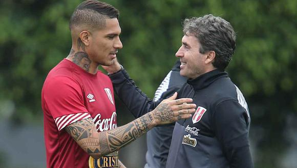 Paolo Guerrero recibirá en Brasil a Néstor Bonillo, preparador físico de la selección peruana. (Foto: GEC)
