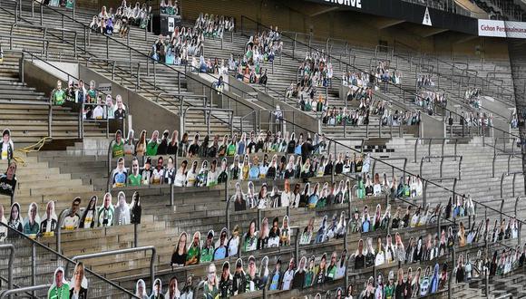 Por 19 euros, los hinchas podrán estar presente en el estadio con siluetas de cartón con sus rostros.