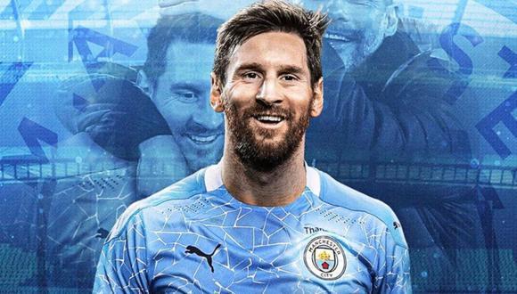 Messi, tras anunciarle al Barcelona que no desea continuar, ha revelado que ahora quiere jugar en el Manchester City del Pep Guardiola, según informa el medio argentino La Nación. FOTO: La Nación