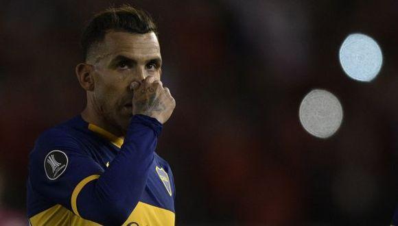 Carlos Tevez tiene 3 goles en 10 partidos en la temporada 2019-20 de la Superliga argentina. (Foto: AFP)