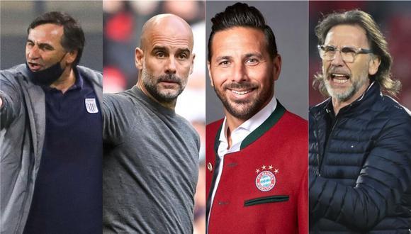 El entrenador de Alianza Lima contó detalles poco conocidos sobre su carrera que involucran a Guardiola, Pizarro y Gareca