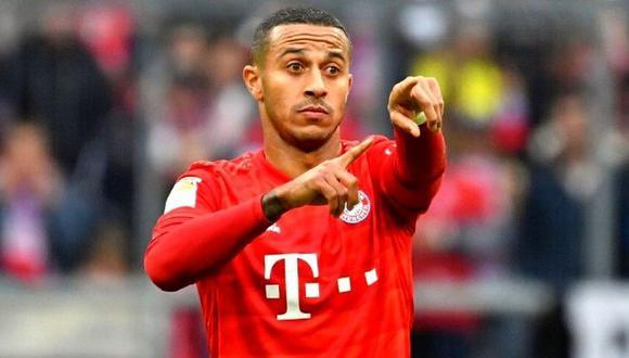 Thiago Alcántara se despide de Bayern Múnich tras final de Champions League