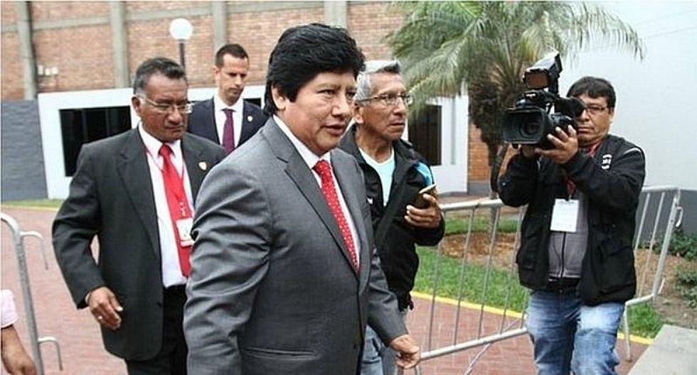 Dictan comparecencia restringida a Edwin Oviedo por caso 'Cuellos Blancos'