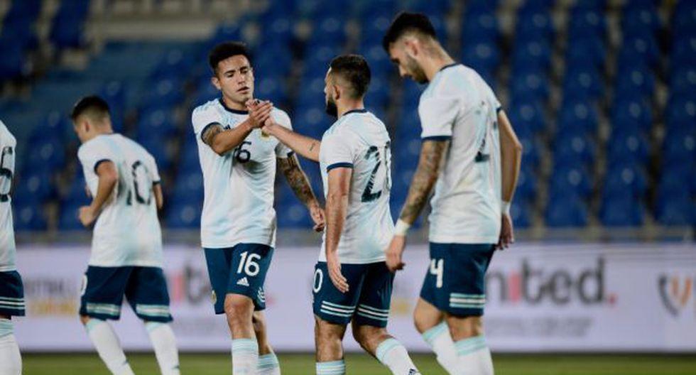 Argentina ahora enfrentará a Brasil en la final del United International Football Festival 2019. (Foto: Twitter @Argentina)
