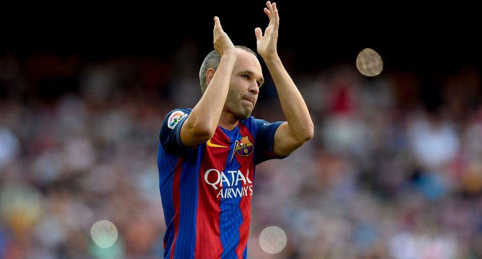 Andrés Iniesta fue opción para reforzar a Barcelona en el reciente mercado de fichajes. (Foto: AFP)