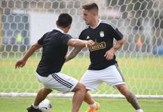 Alejandro Hohberg entrenó por primera vez con Sporting Cristal en la pretemporada